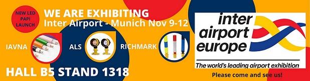 Inter Airport Exhibition Munich Nov 9-12